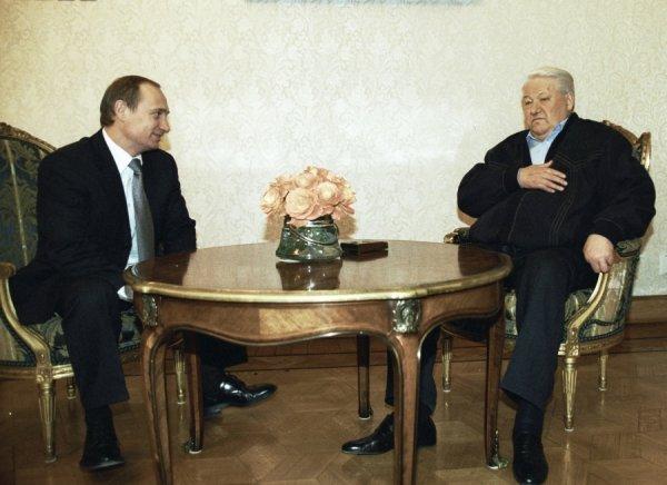 """Картинки и фото """"Родня"""" Ельцин и Путин!"""