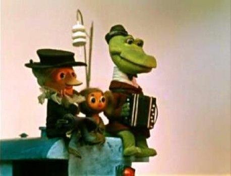 Картинки детские Крокодил Гена и Чебурашка!