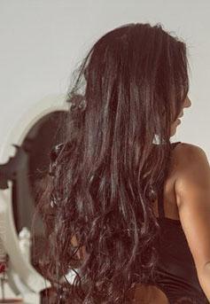 фото на аву волосы