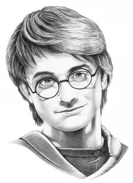 Срисовки Гарри Поттер (30 картинок)!