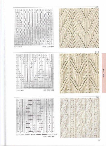 Схемы вязания спицами (40 фото)!